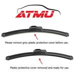 """Fits 07-11 Toyota Camry (24""""+20"""") Wind-4"""