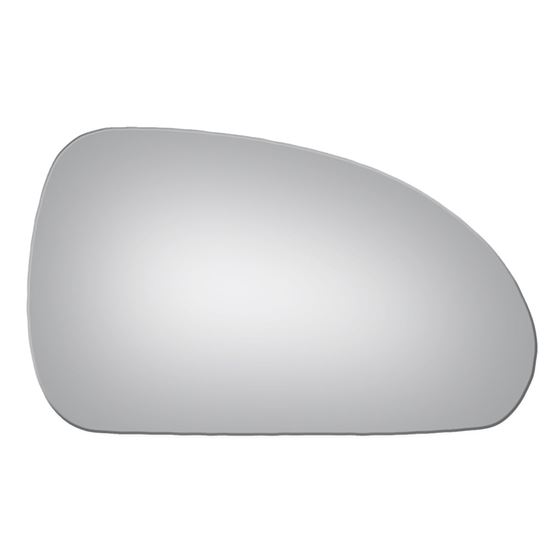 Mirror Glass + Adhesive for 06-12 Mitsubishi Ecl-2