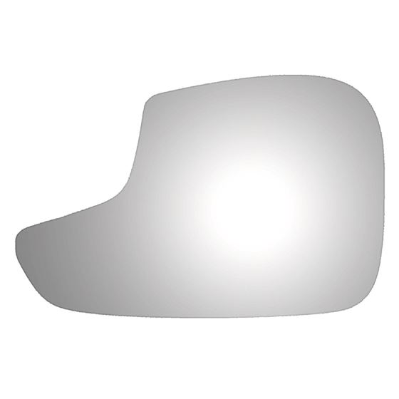 Mirror Glass + ADHESIVE for 11-17 Ford Fiesta Driv