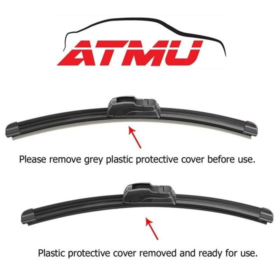 "Fits 07-11 Toyota Camry (24""+20"") Wind-4"
