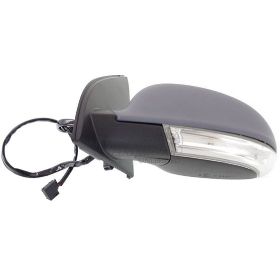 Passenger Side Mirror For Rabbit 06-09 Paint to Match