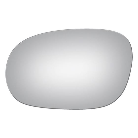 Mirror Glass Replacement + Silicone Adhesive for-4