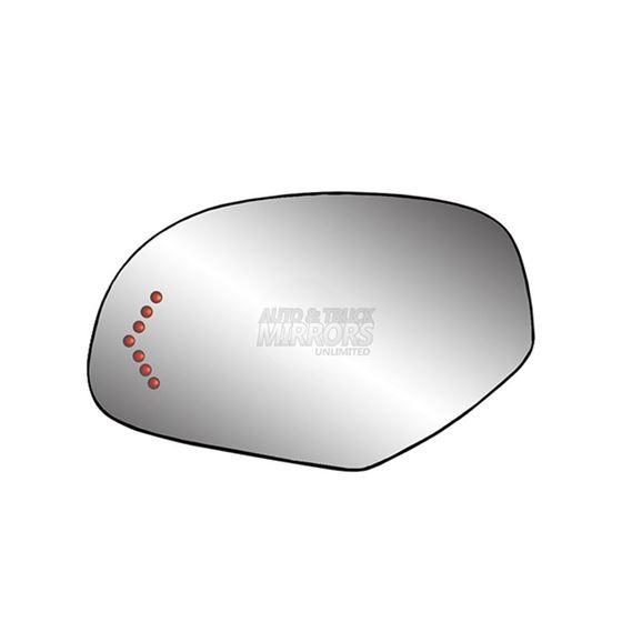 Fits 08-13 GMC Sierra 1500 Driver Side Mirror Gl-2