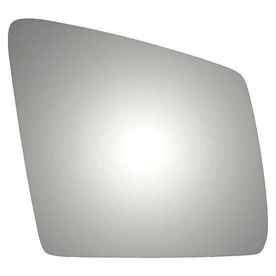 New Replacement Mirror Glass with FULL SIZE ADHESIVE for Honda Fit Passenger Side View Right RH