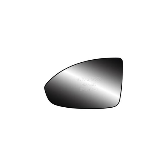 Fits 11-16 Chevrolet Cruze Driver Side Mirror Glass With