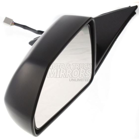 Heated With Memor 08-14 Cadillac Cts Driver Side Mirror Replacement Sedan