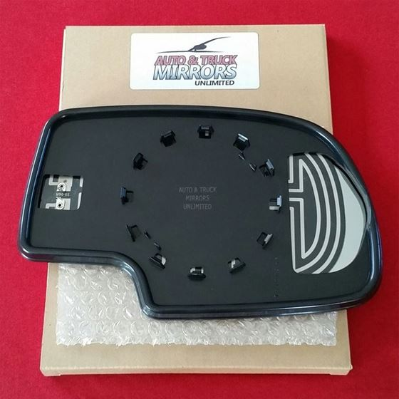 Fits Chevy GMC Driver Side Mirror Glass Heated-2