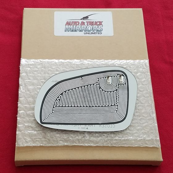 Mirror Glass + Adhesive for 95-02 Lincoln Contin-2
