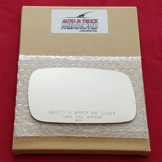 Mirror Glass + Silicone Adhesive for Saab 9-3, 9-2