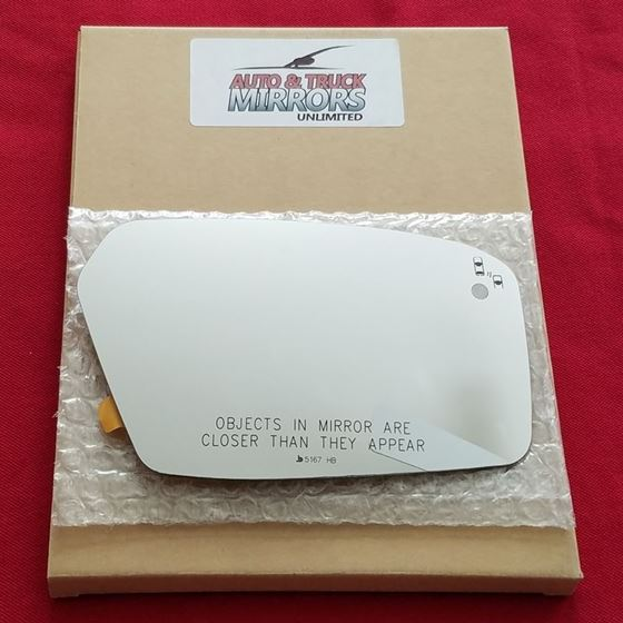Mirror Glass + Silicone Adhesive for Milan, MKZ,-2