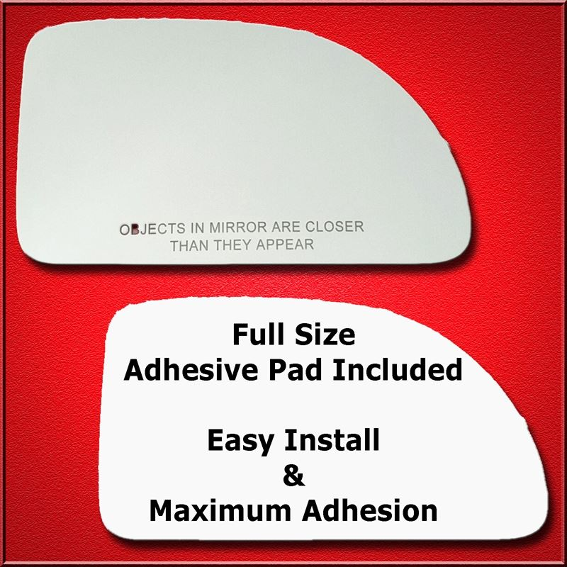 Mirror Glass Replacement + Full Adhesive for 06-07