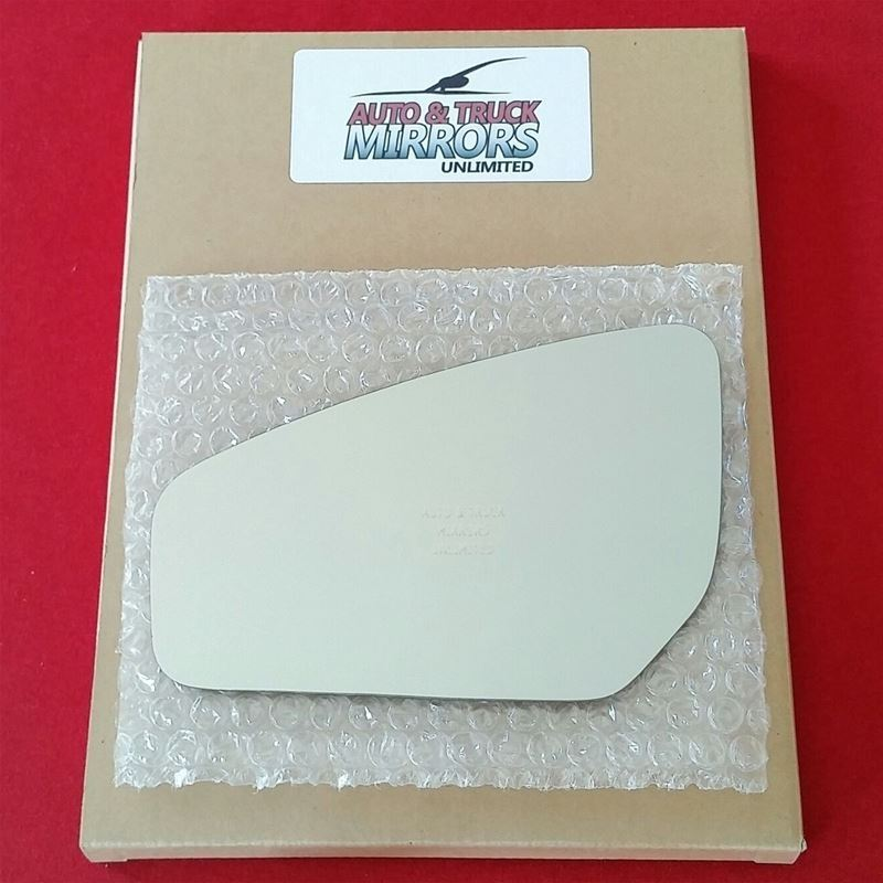 Fits 07-12 Sentra Driver Side Mirror Glass