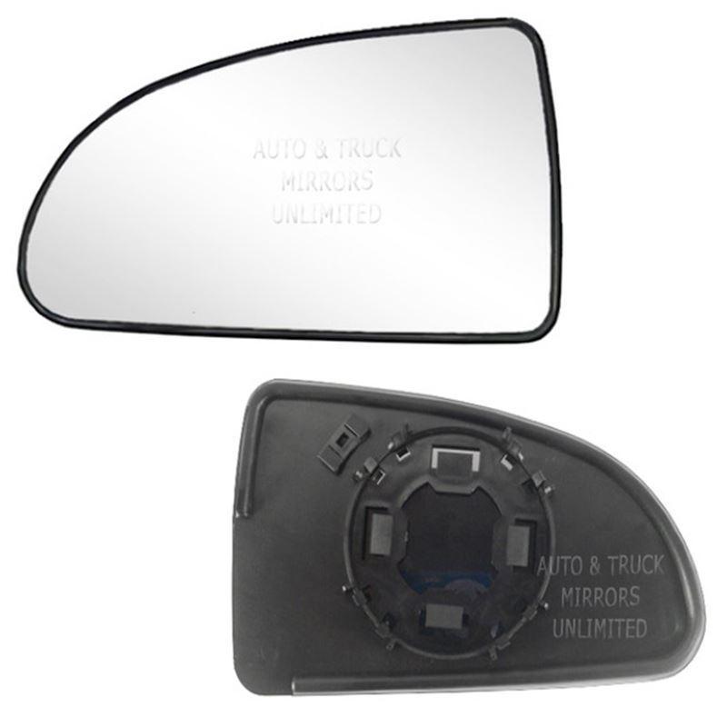 Fits 07-09 Pontiac G5 Driver Side Mirror Glass wit