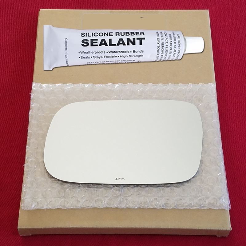 Mirror Glass Replacement + Silicone Adhesive for S