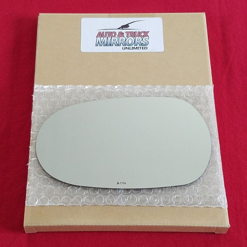 Mirror Glass + Adhesive for 02-08 Jaguar X-Type Dr