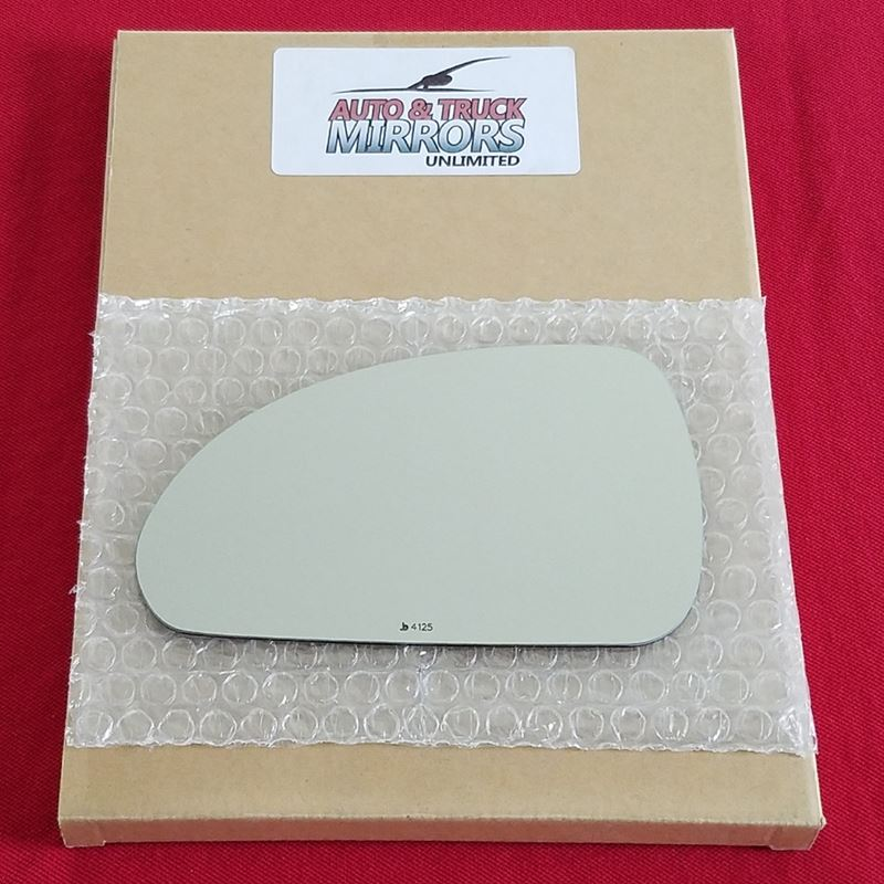Mirror Glass + Adhesive for 06-12 Mitsubishi Eclip