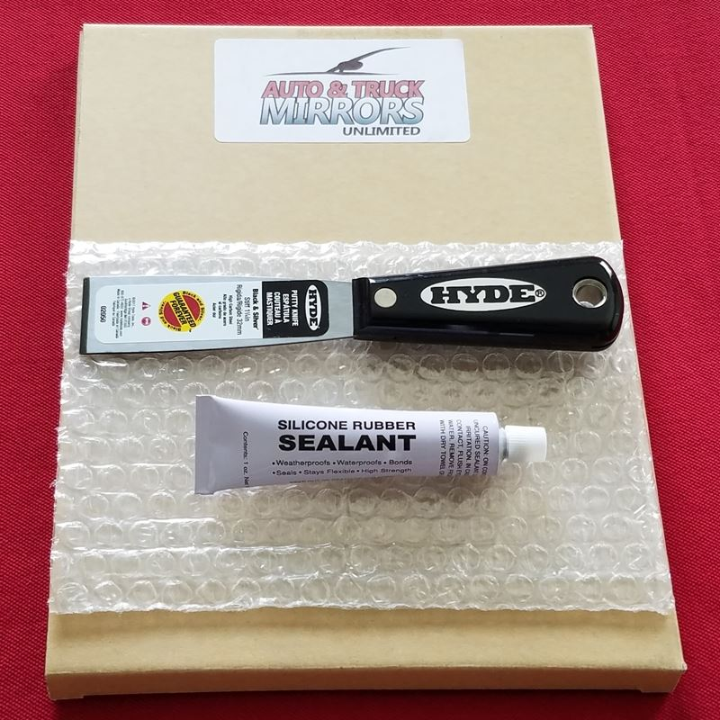 Mirror Removal Tool and Adhesive Glue Kit