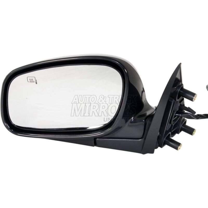 Fits 03-04 Lincoln Town Car Driver Side Mirror Rep