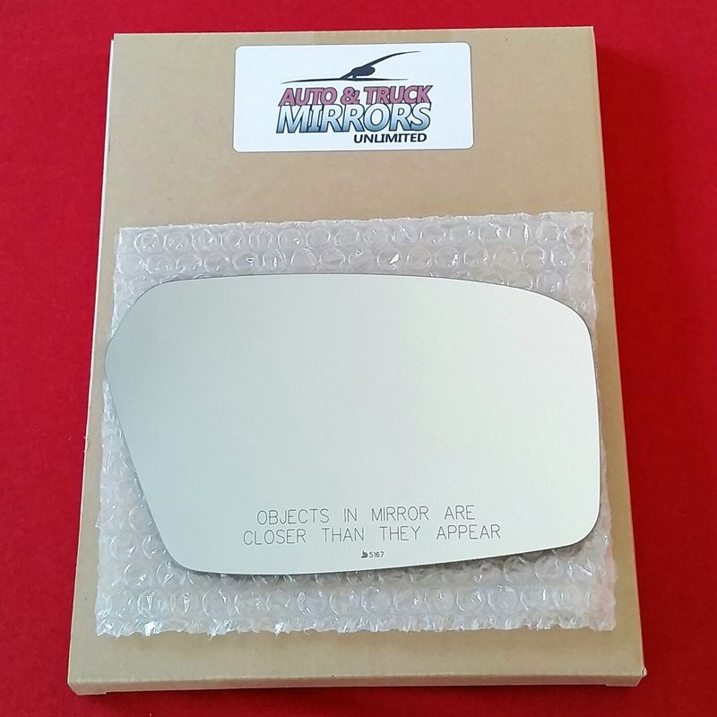 Mirror Glass + ADHESIVE for 06-10 Ford Fusion, Mil