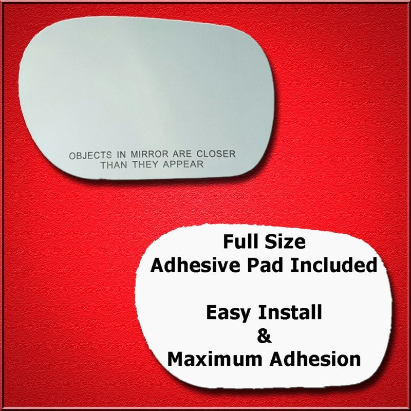 Mirror Glass Replacement + Full Adhesive for Infin