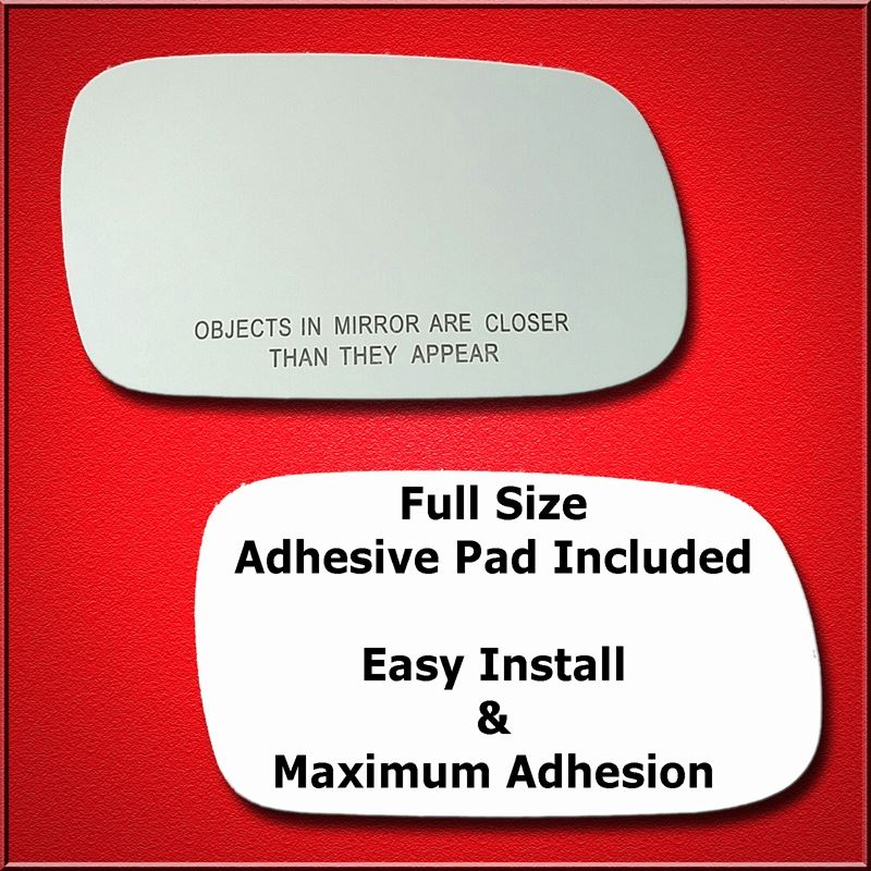 Mirror Glass Replacement + Full Adhesive for Legac