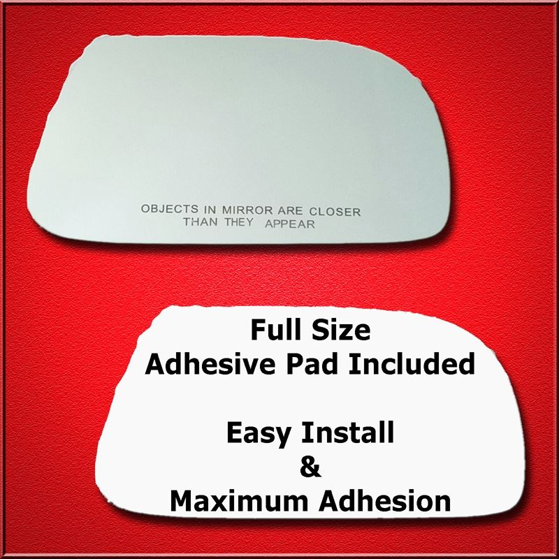 Mirror Glass Replacement + Full Adhesive for 04-05