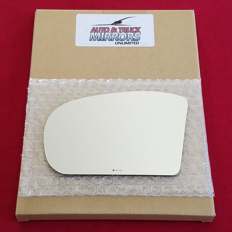 Mirror Glass + ADHESIVE for Mercedes C-Class, E-Cl