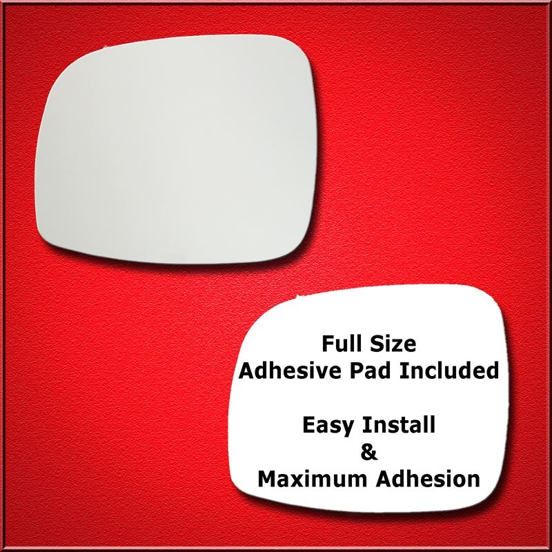 Mirror Glass Replacement + Full Adhesive for 08-15