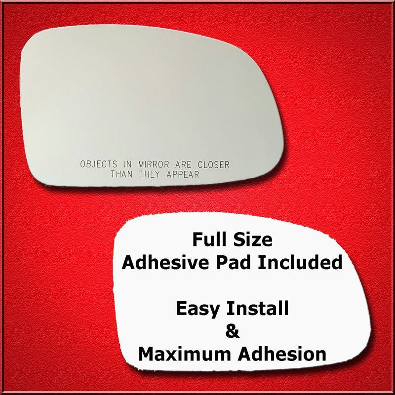 Mirror Glass Replacement + Full Adhesive for Ponti