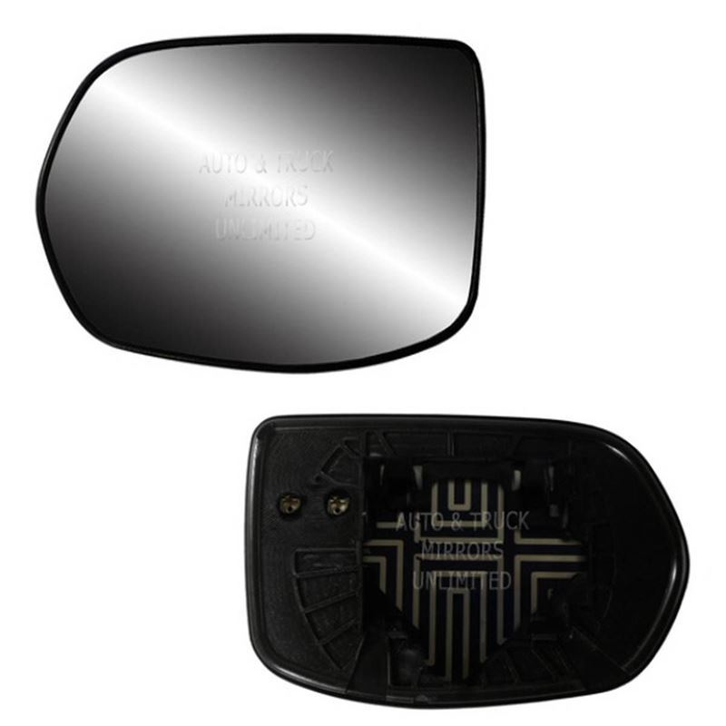 Fits 07-11 Honda CR-V Driver Side Mirror Glass wit