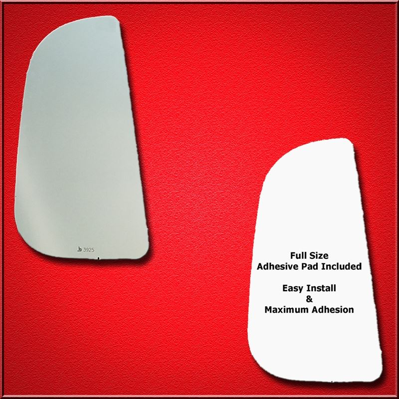 Mirror Glass Replacement + Full Adhesive for Ram P