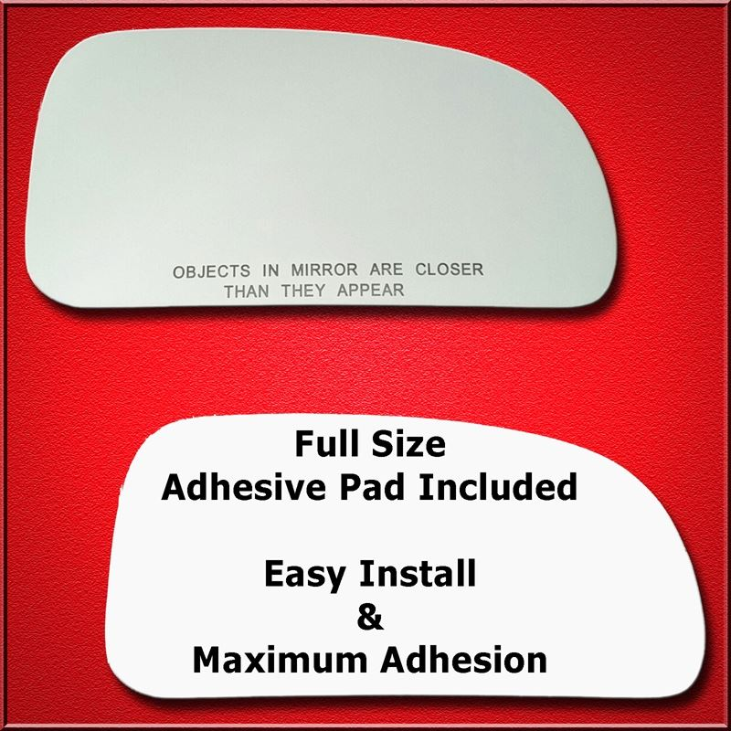 Mirror Glass Replacement + Full Adhesive for Trail