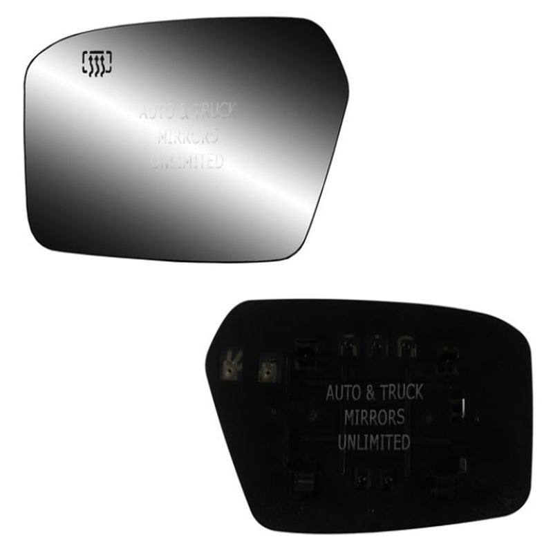 Fits 06-10 Ford Fusion Driver Side Mirror Glass wi