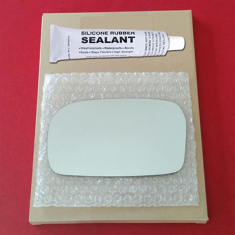 Mirror Glass Replacement + Silicone Adhesive for H