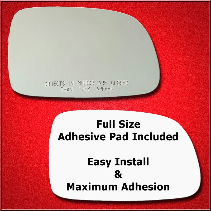 Mirror Glass Replacement + Full Adhesive for 98-03