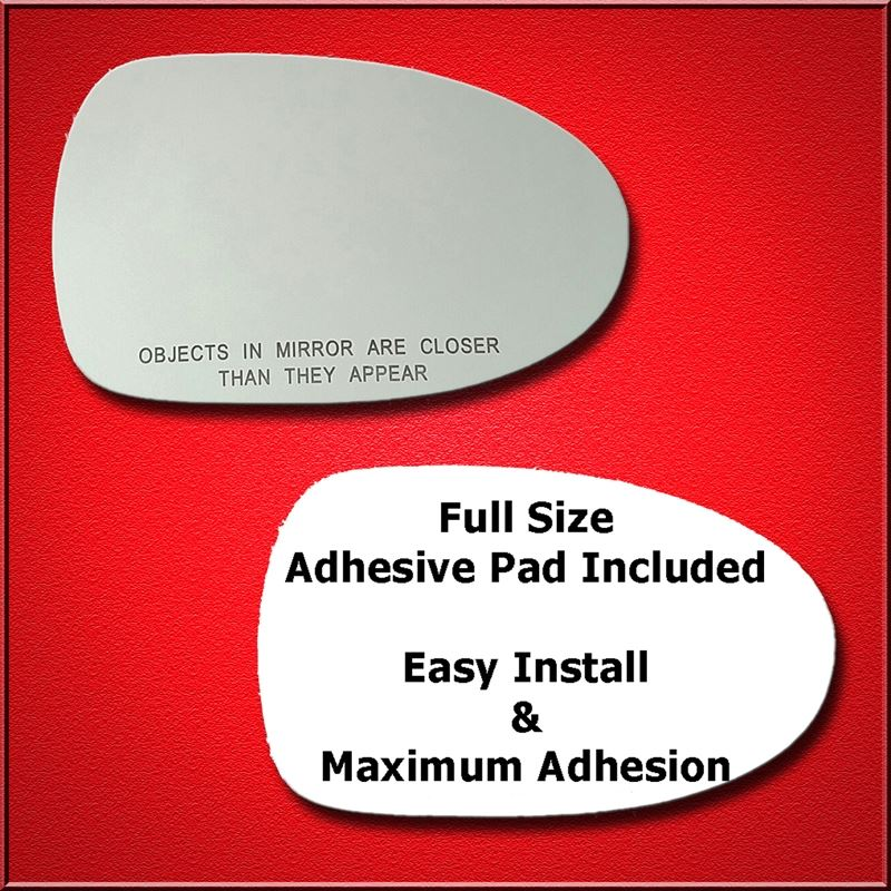 Mirror Glass Replacement + Full Adhesive for 95-99