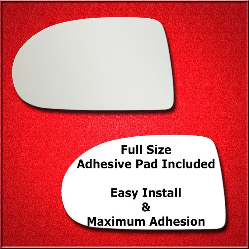 Mirror Glass Replacement + Full Adhesive for 07-17