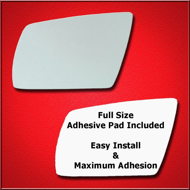 Mirror Glass Replacement + Full Adhesive for 01-05