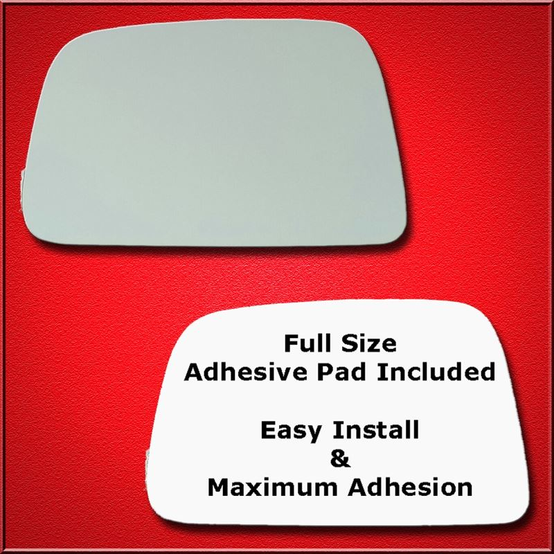 Mirror Glass Replacement + Full Adhesive for 95-00