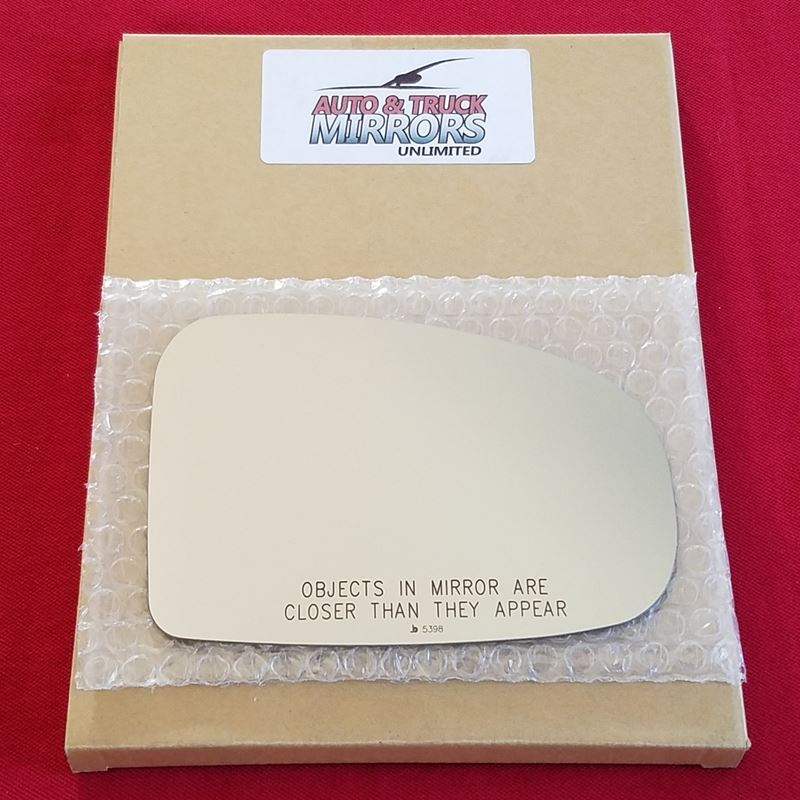Mirror Glass + ADHESIVE for 10-14 Toyota Prius Pas