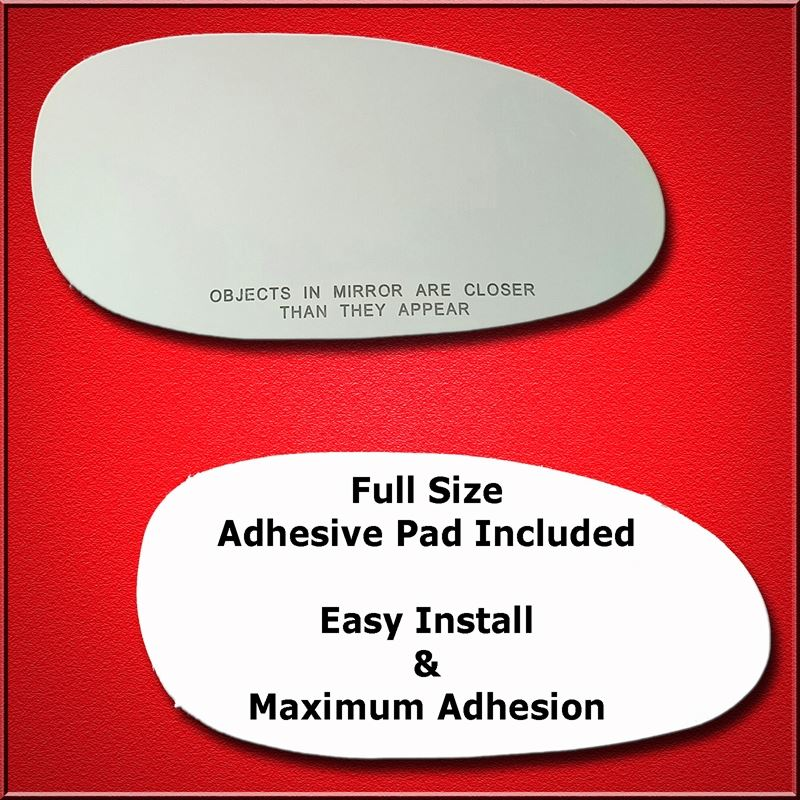 Mirror Glass Replacement + Full Adhesive for Centu