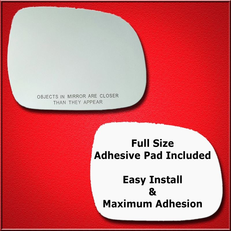 Mirror Glass Replacement + Full Adhesive for 04-07