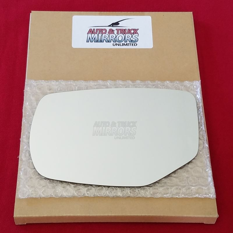 Mirror Glass + ADHESIVE for 13-17 Accord Driver Si