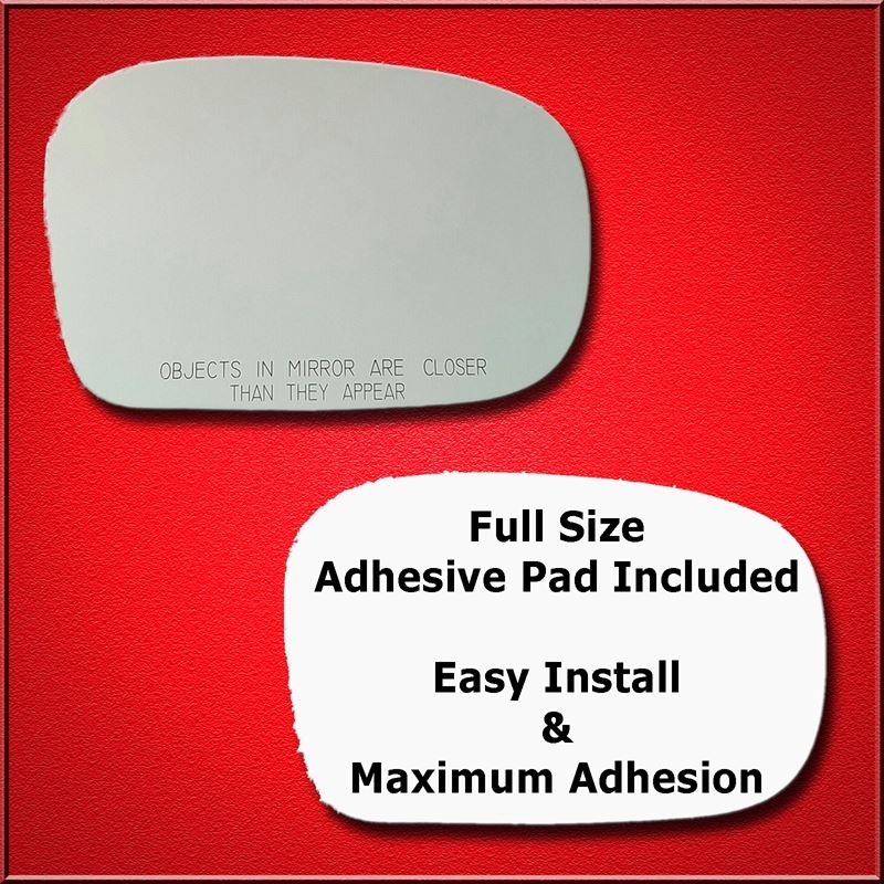 Mirror Glass Replacement + Full Adhesive for Fores