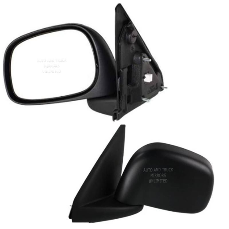 Fits 02-09 Dodge Pickup Driver Side Mirror Assembl