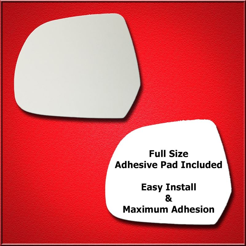 Mirror Glass Replacement + Full Adhesive for 11-17