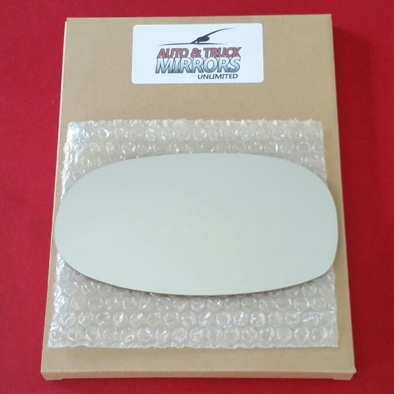 Mirror Glass + ADHESIVE for 01-05 Saturn L300 Driv