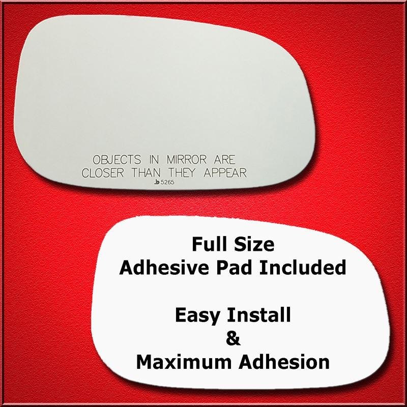 Mirror Glass Replacement + Full Adhesive for 240,