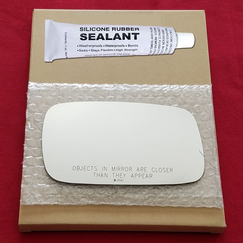 Mirror Glass + Silicone Adhesive for Saab 9-3, 9-5