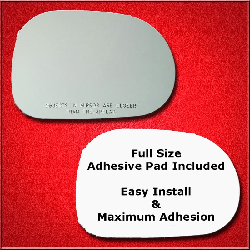 Mirror Glass Replacement + Full Adhesive for 98-99